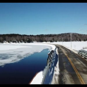 Adirondack winter roads
