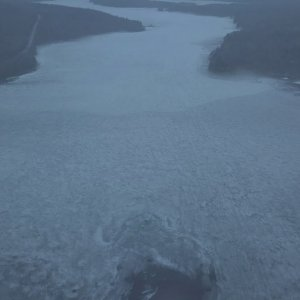 Lake Ice slowly losing its grip