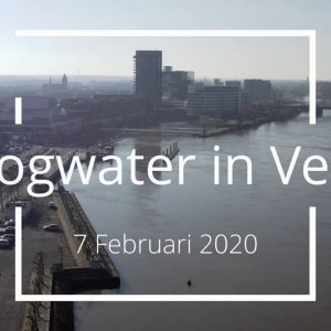 Hoogwater in Venlo | High tide in Venlo | 2020-02-07 (Version 1.2)