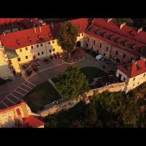 Drone View | Tyniec Sunset