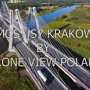 Drone View Poland | Bridge S7 Kraków