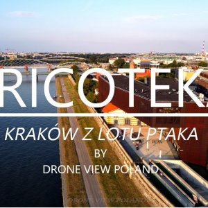 Cricoteka Kraków from bird eye