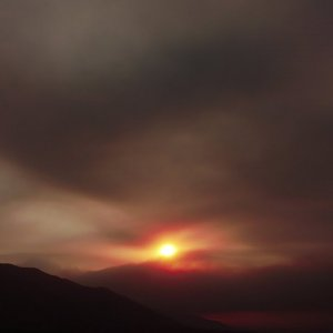 California Wildfire Sunrise 2020