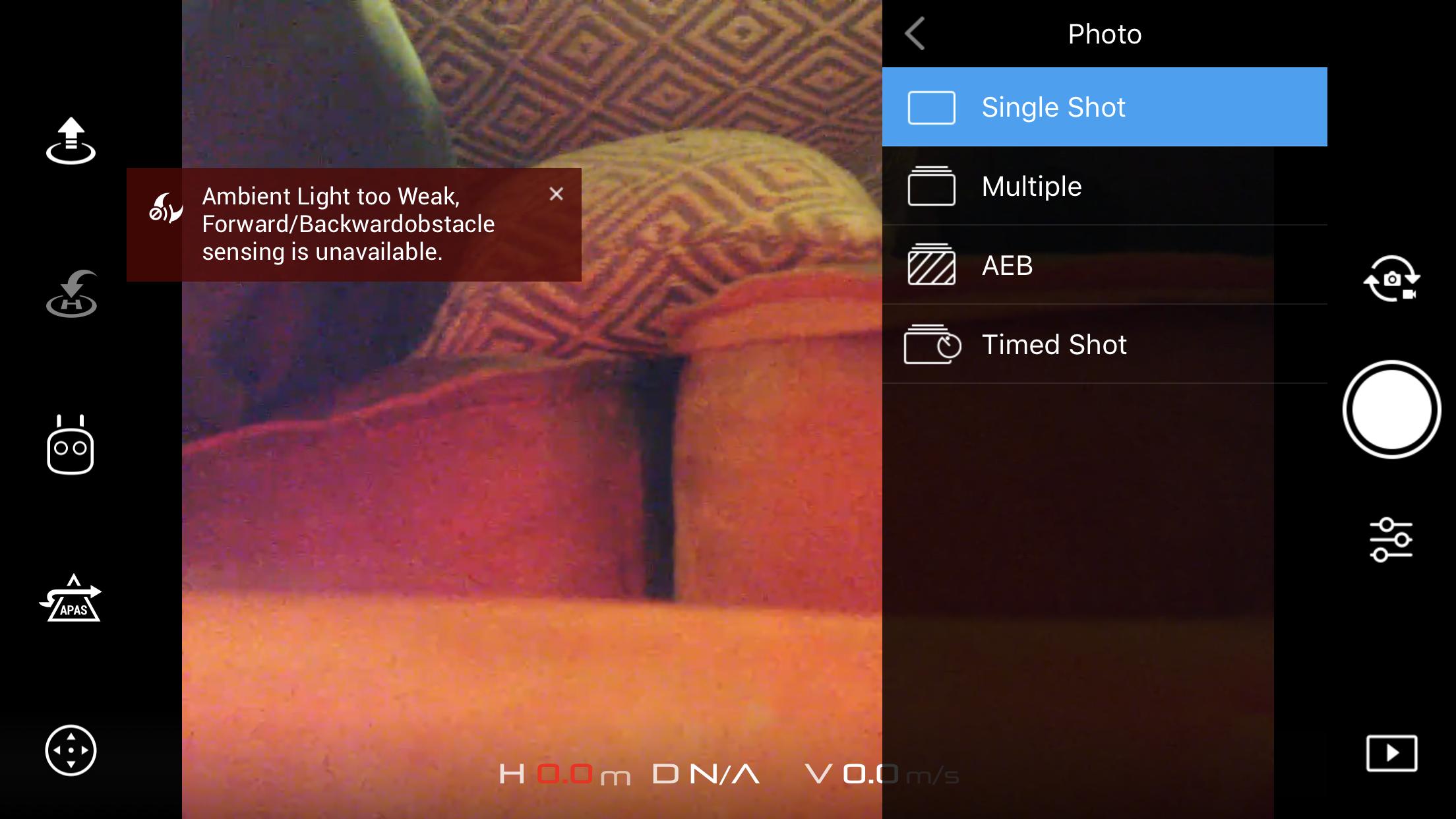No HDR and Pano option on Mavic Air | DJI Mavic Drone Forum